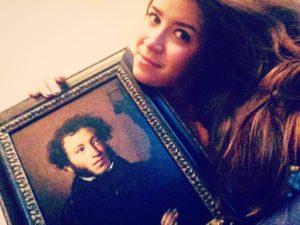 Мой милый Пушкин! С днем рождения!